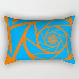 Aperture Vector Rectangular Pillow