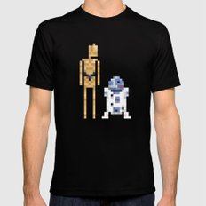 The Droids Mens Fitted Tee Black LARGE