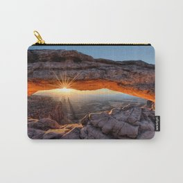 Mesa Arch Sunburst  by Lena Owens Carry-All Pouch