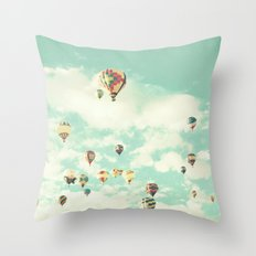 210 to Yuma in its way Throw Pillow