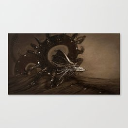 Wyrm, Caldera  Canvas Print