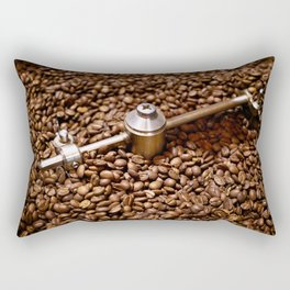 Freshly roasted coffee beans Rectangular Pillow