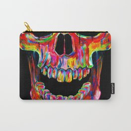 Chromatic Skull Carry-All Pouch