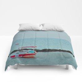 Between Sea and Sky Comforters