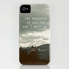 The Mountain is Calling iPhone (4, 4s) Slim Case