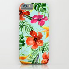 Colorful Tropical Pattern Slim Case iPhone 6
