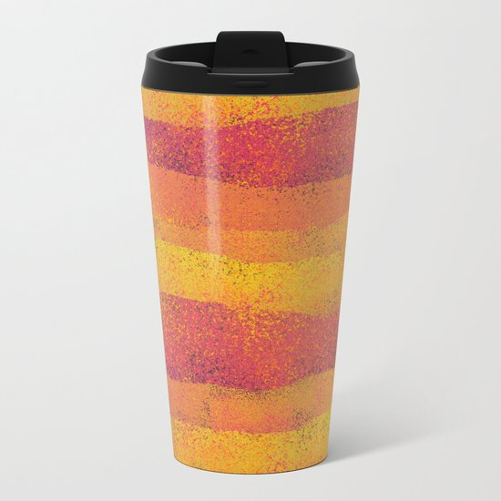 L\V\ FLOW Metal Travel Mug