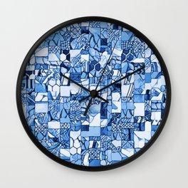 Tiles Delft Blue ~ 1 Wall Clock