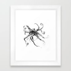 Star Octopus Framed Art Print