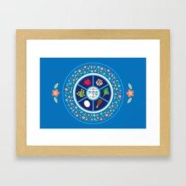 Passover Decor Framed Art Print
