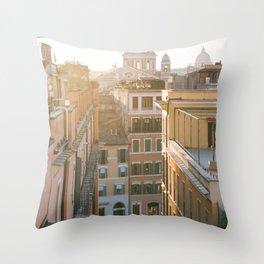 Sant'Ambrogio e Carlo al Corso Throw Pillow