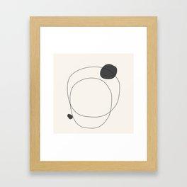 Abstract line art 79 Framed Art Print
