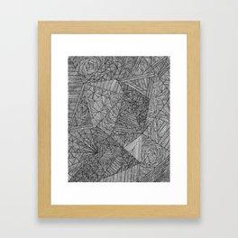 Brain Fart Framed Art Print