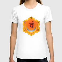 Svadhishthana Sacral Chakra T-shirt