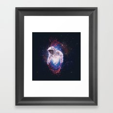 Between Dimensions Framed Art Print