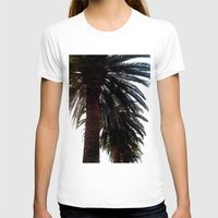 palm trees T-shirts featuring Palm Trees by Moonshine Paradise
