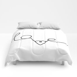 Woman & LoveMe Comforters
