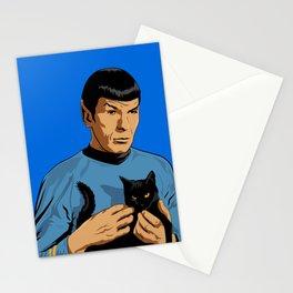Spock's cat Stationery Cards