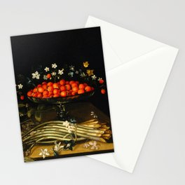 Still life from the 17th century Stationery Cards