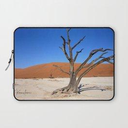 Skeleton tree in Namibia Laptop Sleeve