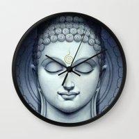 buddah Wall Clocks featuring BUDDAH by I Love Decor