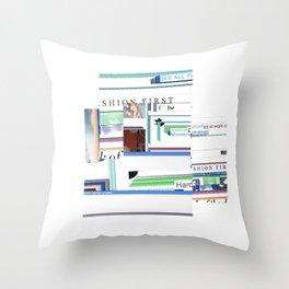 N,ASTY Throw Pillow