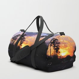 Highway Sunset Duffle Bag