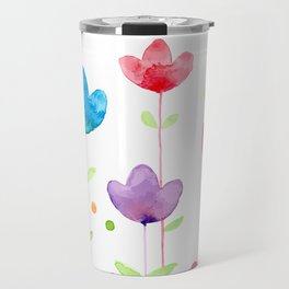 Flowers and joy Travel Mug