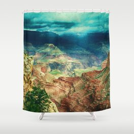 Grand Canyon Digital Paint Shower Curtain