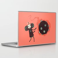 katamari Laptop & iPad Skins featuring Katamari of the Dead by Hector Mansilla