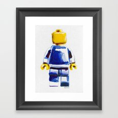 Lost & Found 10: Same Difference Framed Art Print