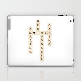 MOTHER's Day Scrabble Art Gift Laptop & iPad Skin