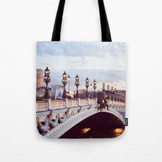 Pont Alexandre III Paris. Tote Bag