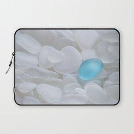 Turquoise Sea Glass Laptop Sleeve