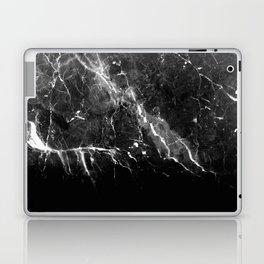 Black Gray Marble #1 #decor #art #society6 Laptop & iPad Skin