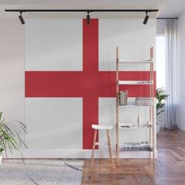 Flag of england Wall Mural