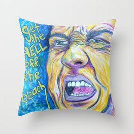 Hurricane Christie Throw Pillow