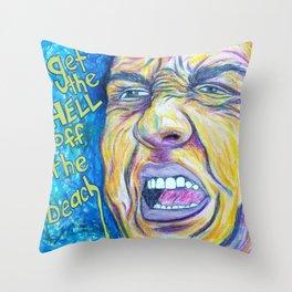 Hurricane Christie Throw Pillow