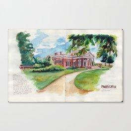 TJ's Monticello Canvas Print