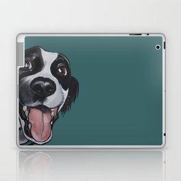 Maeby the border collie mix Laptop & iPad Skin