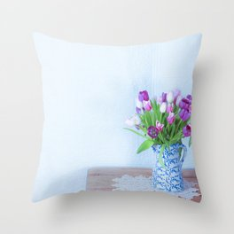 Exhilaration of Spring Throw Pillow