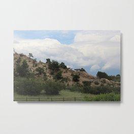 Roaming Mountain Goats Metal Print