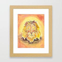 Zodiac Collection: Leo Framed Art Print