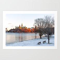 Beautiful Ottawa Art Print