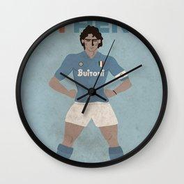 MY HERO - 10 MARADONA - ZEROSTILE FACTORY Wall Clock
