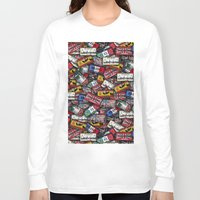 country Long Sleeve T-shirts featuring country plates by Eduardo Doreni