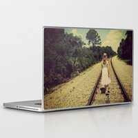 forever young Laptop & iPad Skins featuring forever young by Starr Shaver