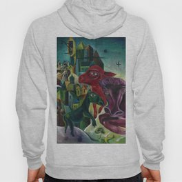 City with Animals by Max Ernst Hoody