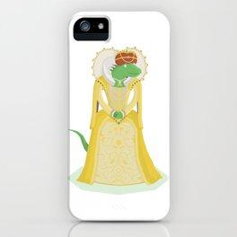 Queen Elizardbeth I iPhone Case