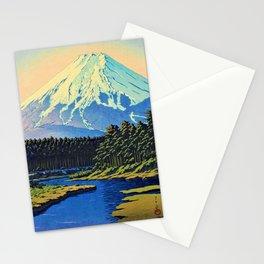Mount Fuji - OSHINO FUJI - Kawase Hasui Stationery Cards
